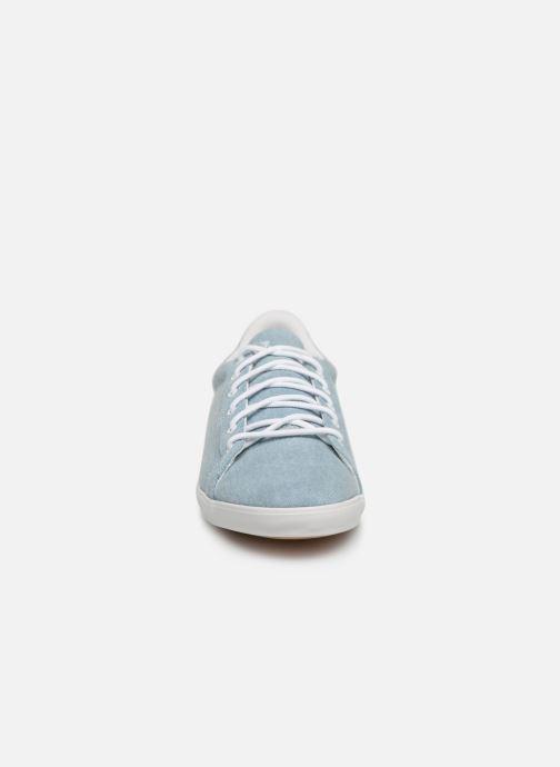 Baskets Le Coq Sportif Agate Bleu vue portées chaussures