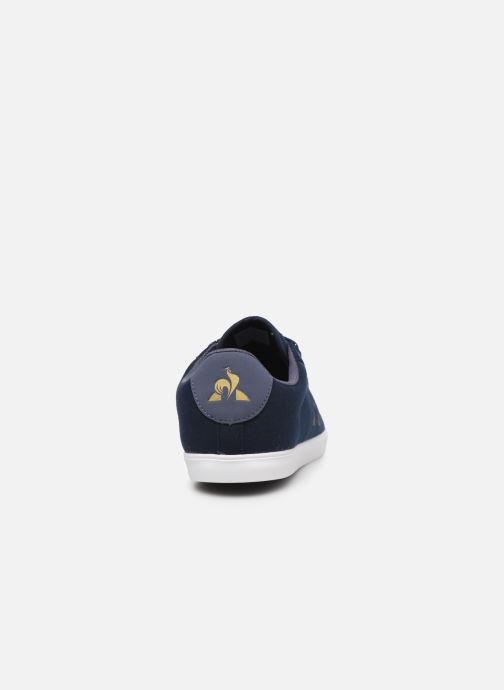 Baskets Le Coq Sportif Agate Bleu vue droite