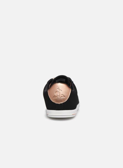Baskets Le Coq Sportif Agate Noir vue droite