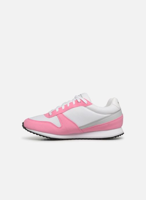 Sneaker Le Coq Sportif Alpha II W rosa ansicht von vorne