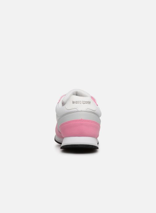 Sneaker Le Coq Sportif Alpha II W rosa ansicht von rechts