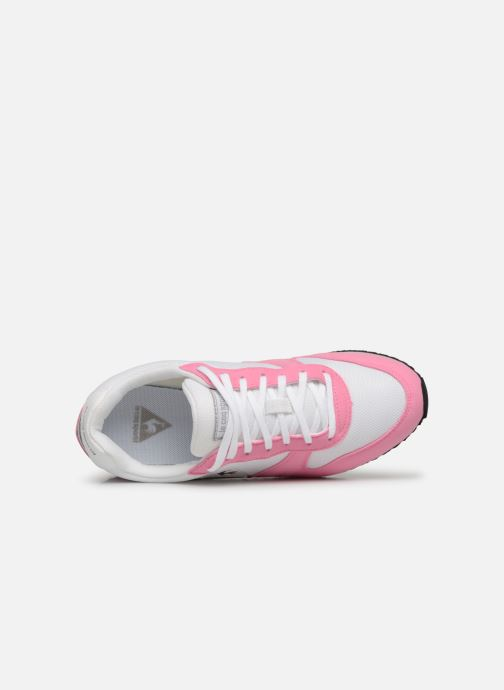 Sneaker Le Coq Sportif Alpha II W rosa ansicht von links