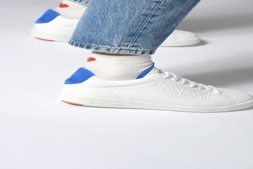 Sneaker Le Coq Sportif Blazon W weiß ansicht von unten / tasche getragen