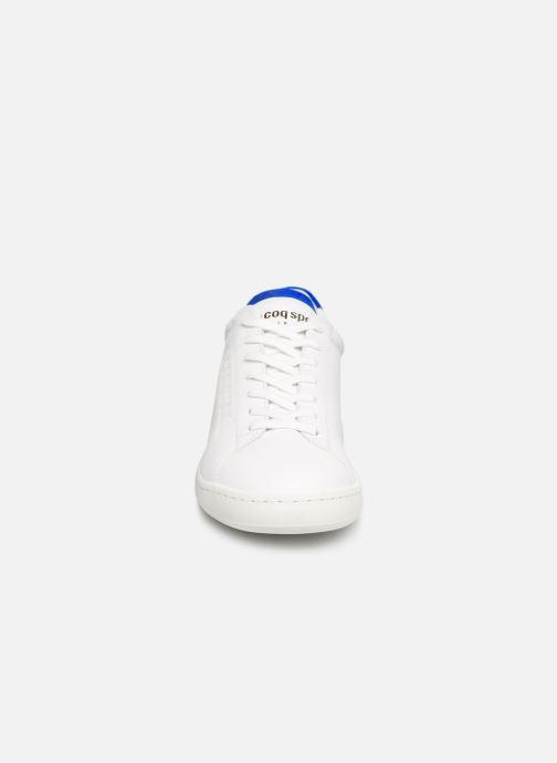 Sneaker Le Coq Sportif Blazon W weiß schuhe getragen