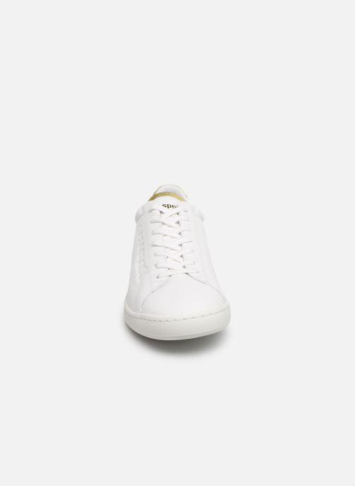 Sneakers Le Coq Sportif Blazon W Bianco modello indossato
