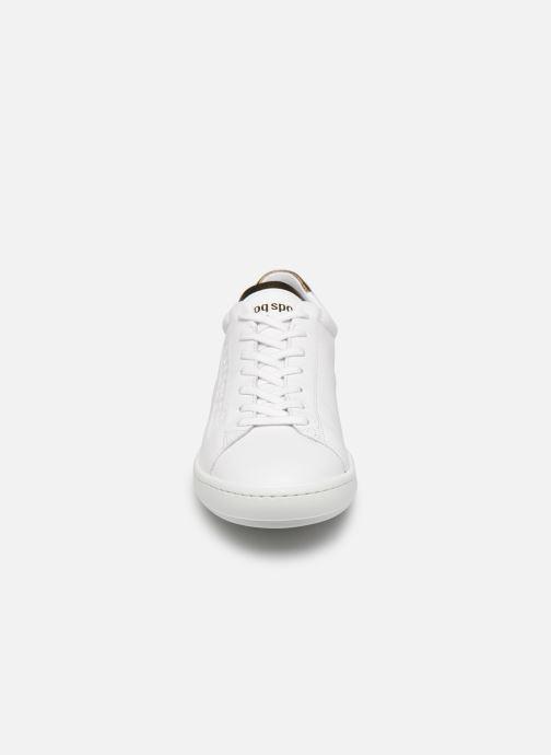 Baskets Le Coq Sportif Blazon W Blanc vue portées chaussures