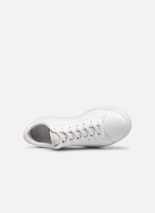 Sneaker Le Coq Sportif Blazon W weiß ansicht von links