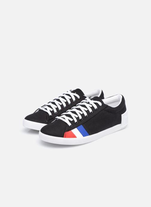 Sneakers Le Coq Sportif Flag W Nero immagine 3/4