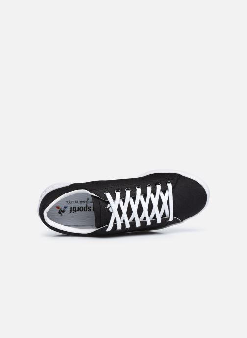 Sneakers Le Coq Sportif Flag W Nero immagine sinistra