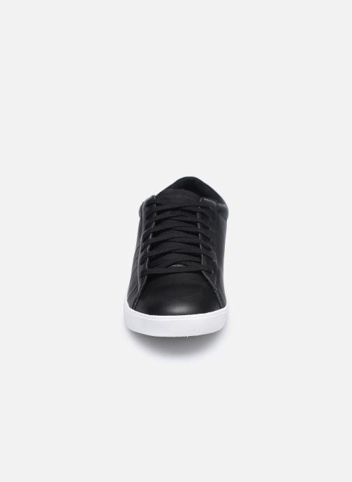 Sneakers Le Coq Sportif Flag W Nero modello indossato
