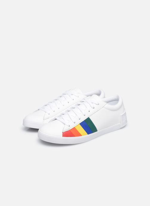 Sneakers Le Coq Sportif Flag W Bianco immagine 3/4