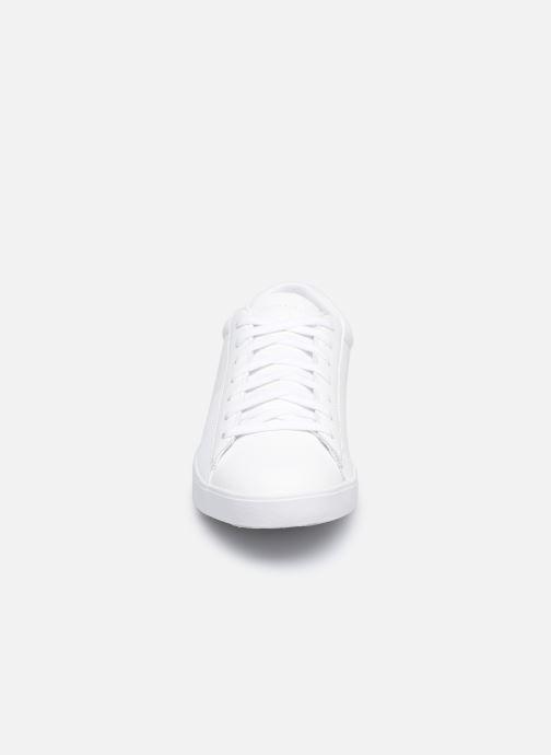 Sneakers Le Coq Sportif Flag W Bianco modello indossato