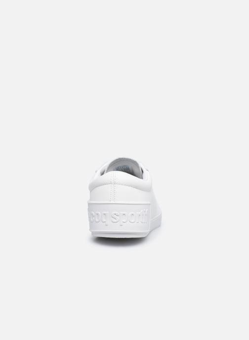 Sneakers Le Coq Sportif Flag W Bianco immagine destra