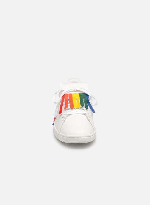 Sneaker Le Coq Sportif Courtset W weiß schuhe getragen