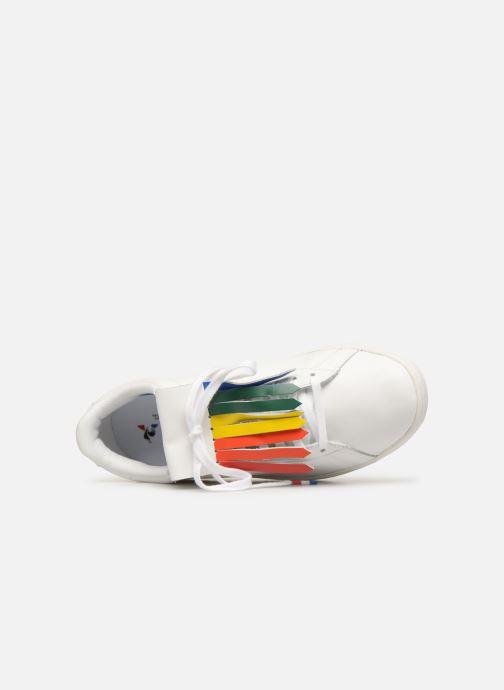 Sneaker Le Coq Sportif Courtset W weiß ansicht von links