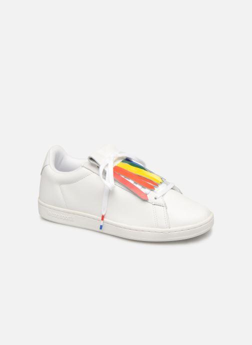 Sneakers Le Coq Sportif Courtset W Wit detail