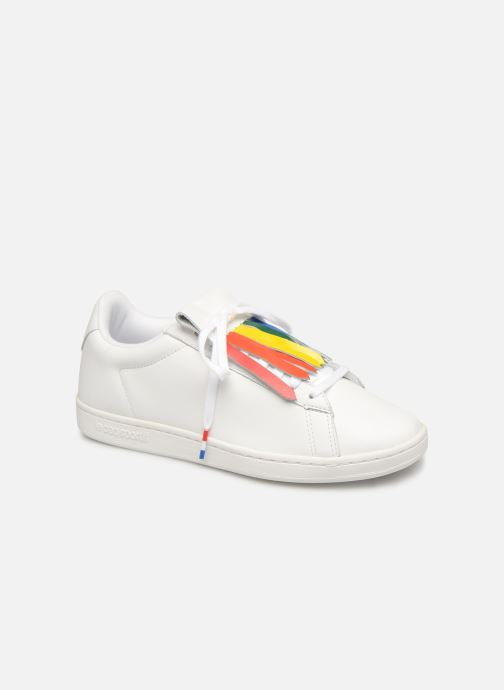 Sneakers Le Coq Sportif Courtset W Wit detail