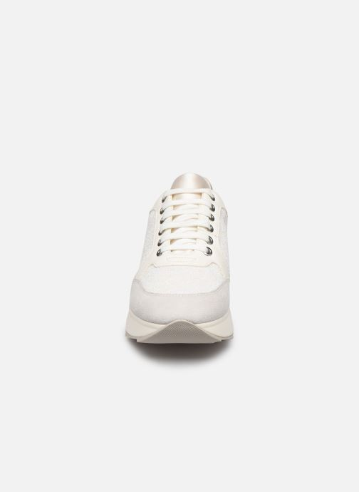 Baskets Geox D Gendry B D745TB Blanc vue portées chaussures