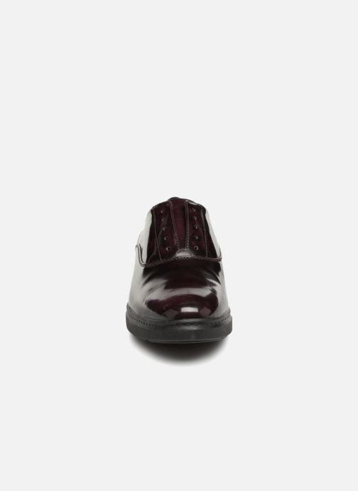 Mocassins Geox D Jerrica C D745XC Violet vue portées chaussures