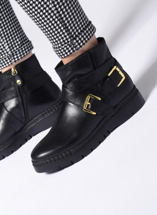 Emsley D Geox Bottines D747ba Boots Noir A Et 8PnOk0w