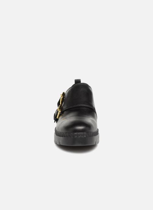Mocassins Geox D Emsley C D747BC Noir vue portées chaussures
