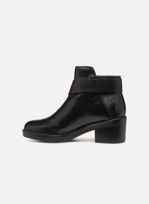 Bottines et boots Geox D Demy A D541LA Noir vue face