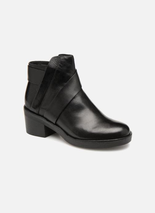 Bottines et boots Geox D Demy A D541LA Noir vue détail/paire