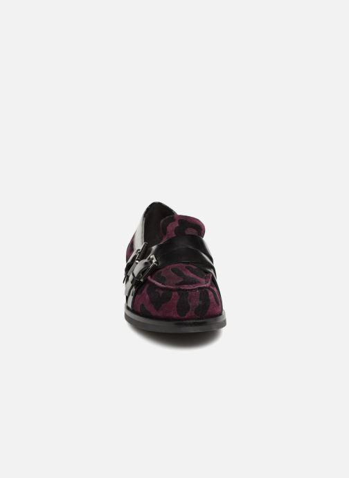 Mocassins Geox D Promethea A D64R3A Violet vue portées chaussures