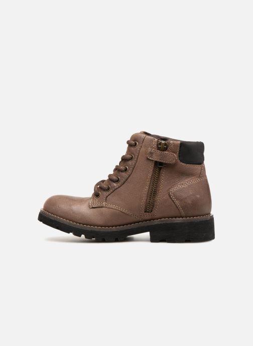 Bottines et boots Geox J Axel B. E J6486E Marron vue face