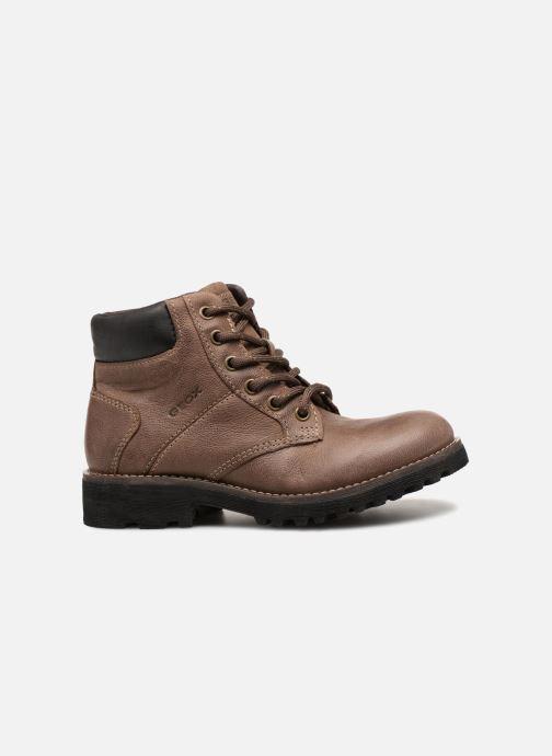 Bottines et boots Geox J Axel B. E J6486E Marron vue derrière