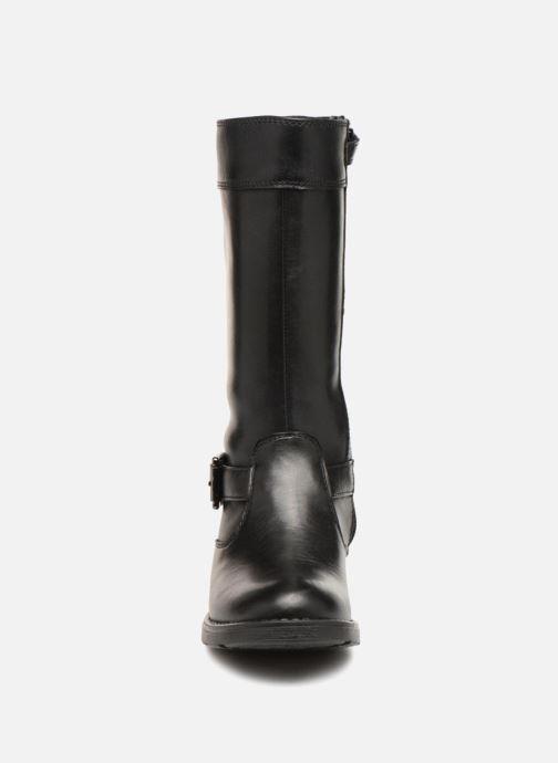 Bottes Geox J Sofia B ABX A J64A2A Noir vue portées chaussures