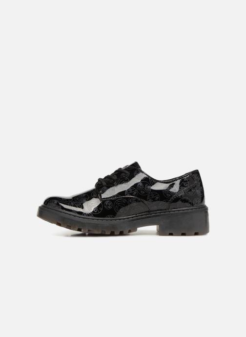 Lace-up shoes Geox J Casey G. M J6420M Black front view