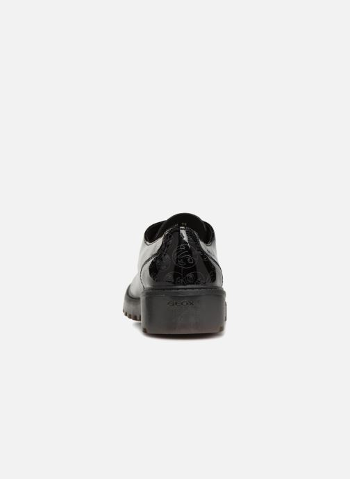 Lace-up shoes Geox J Casey G. M J6420M Black view from the right