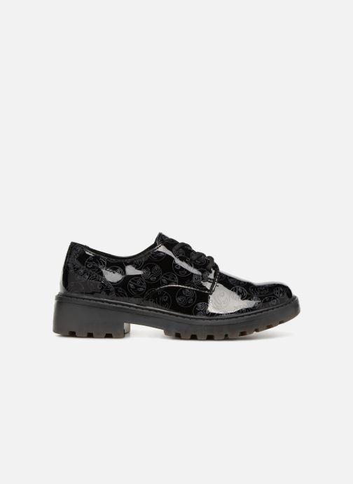 Chaussures à lacets Geox J Casey G. M J6420M Noir vue derrière