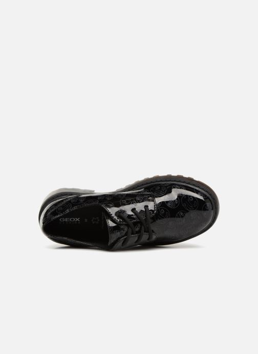 Lace-up shoes Geox J Casey G. M J6420M Black view from the left