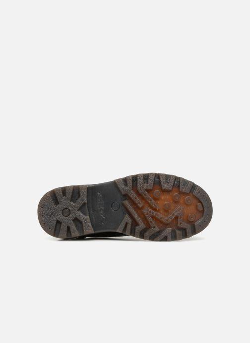Chaussures à lacets Geox J Casey G. M J6420M Noir vue haut