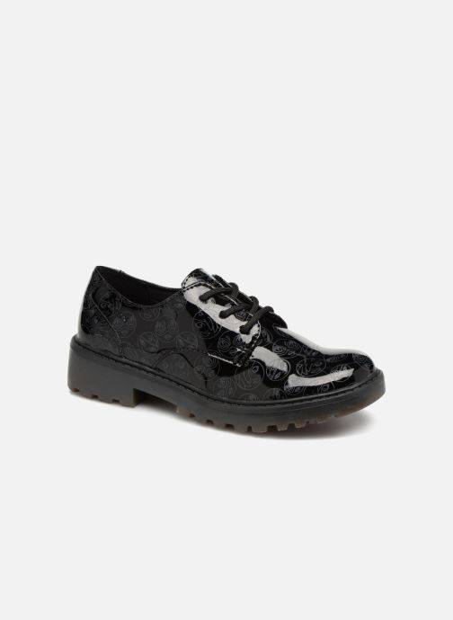 Lace-up shoes Geox J Casey G. M J6420M Black detailed view/ Pair view