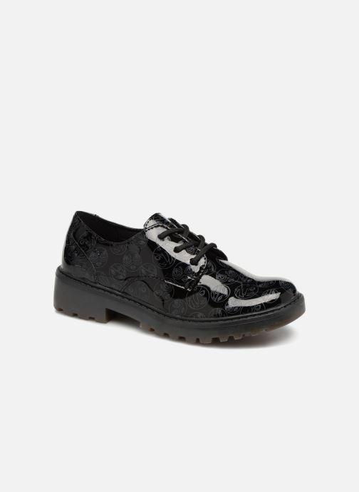 Chaussures à lacets Geox J Casey G. M J6420M Noir vue détail/paire
