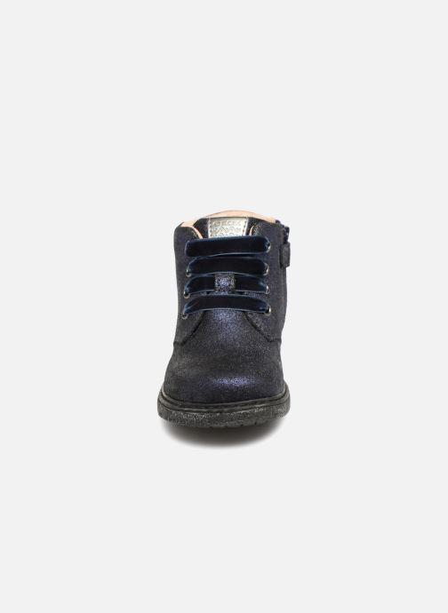 Bottines et boots Geox B Glimmer G. B B64B6C Bleu vue portées chaussures