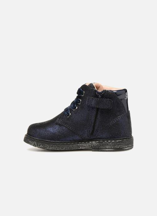Boots en enkellaarsjes Geox B Glimmer G. B B64B6C Blauw voorkant
