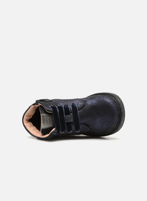 Boots en enkellaarsjes Geox B Glimmer G. B B64B6C Blauw links