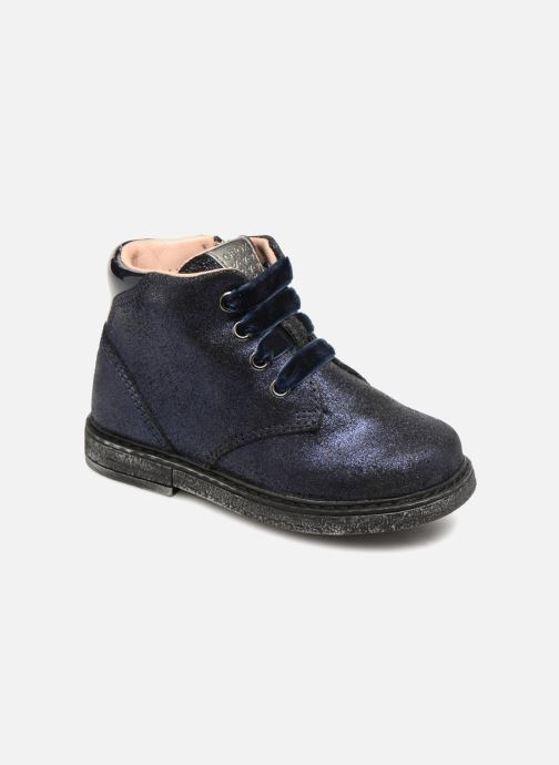 Boots en enkellaarsjes Geox B Glimmer G. B B64B6C Blauw detail