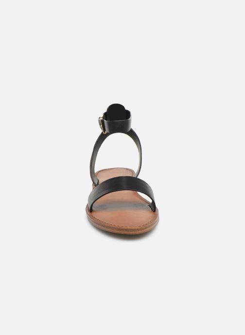Sandales et nu-pieds Aldo CAMPODORO Noir vue portées chaussures