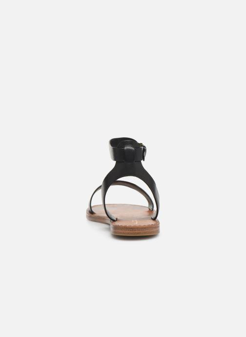 Sandales et nu-pieds Aldo CAMPODORO Noir vue droite