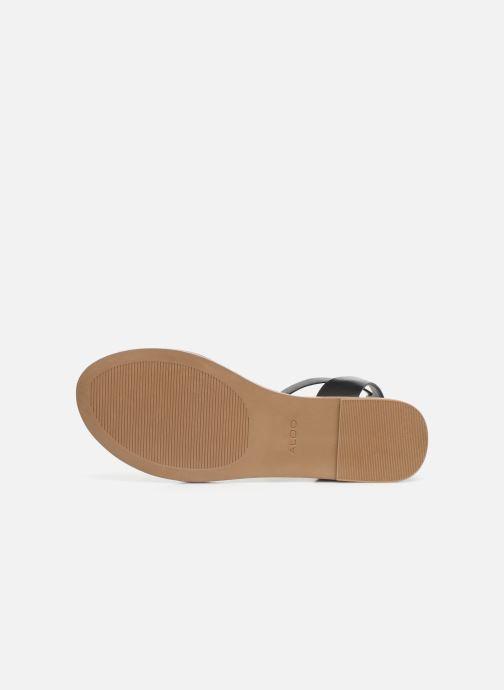 Sandales et nu-pieds Aldo CAMPODORO Noir vue haut
