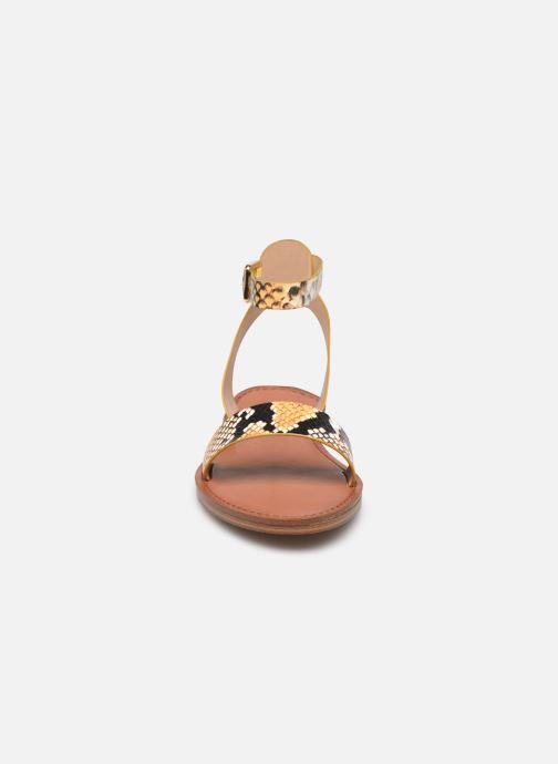 Sandali e scarpe aperte Aldo CAMPODORO Giallo modello indossato