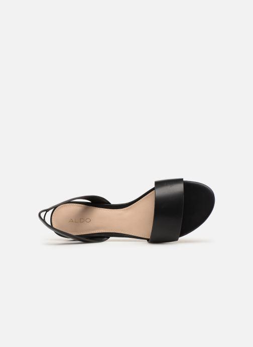 Sandales et nu-pieds Aldo CANDICE Noir vue gauche