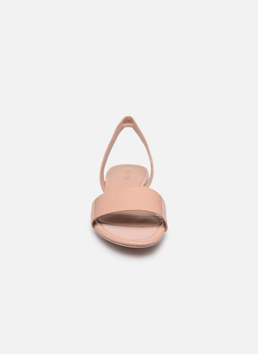 Sandales et nu-pieds Aldo CANDICE Rose vue portées chaussures