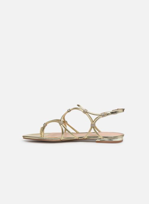 Sandales et nu-pieds Aldo CEARKA Or et bronze vue face