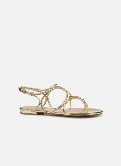 Sandales et nu-pieds Aldo CEARKA Or et bronze vue derrière